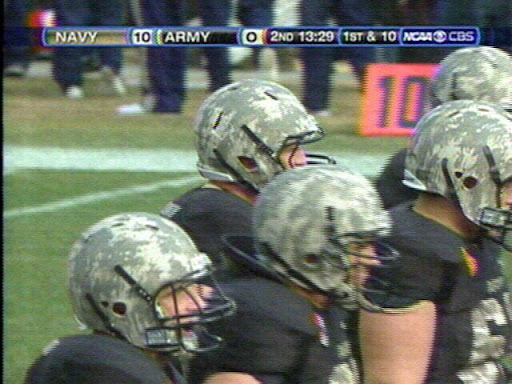Camouflage Football Uniform