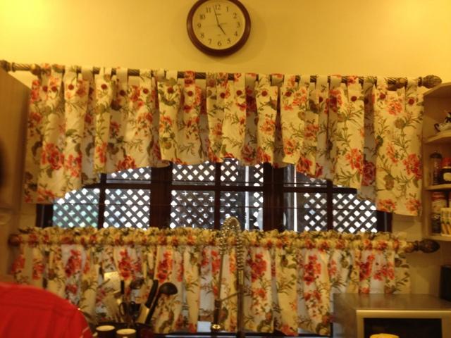 Langsir Dapur English Style Desainrumahid