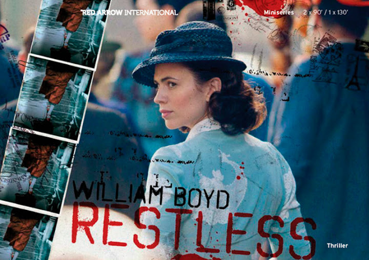 Hayley Atwell in BBC TV spy drama Restless