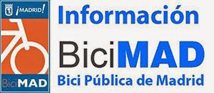 BiciMAD, bicicletas públicas de Madrid. Tarifas, horario, zona y apuntarse