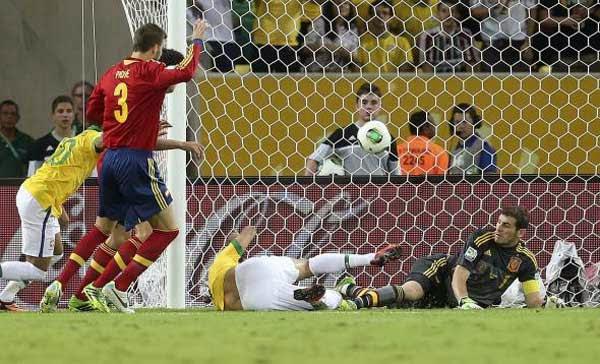 Partido, Brasil-España
