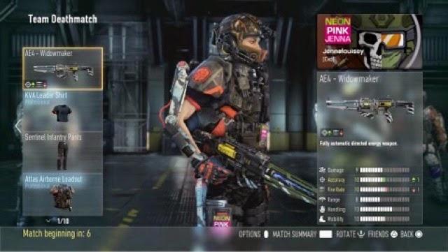 call of duty advanced warfare players online pc