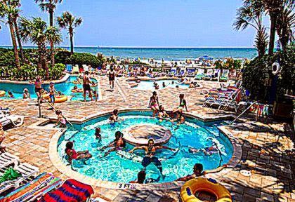 C Beach Resort Amenities In Myrtle