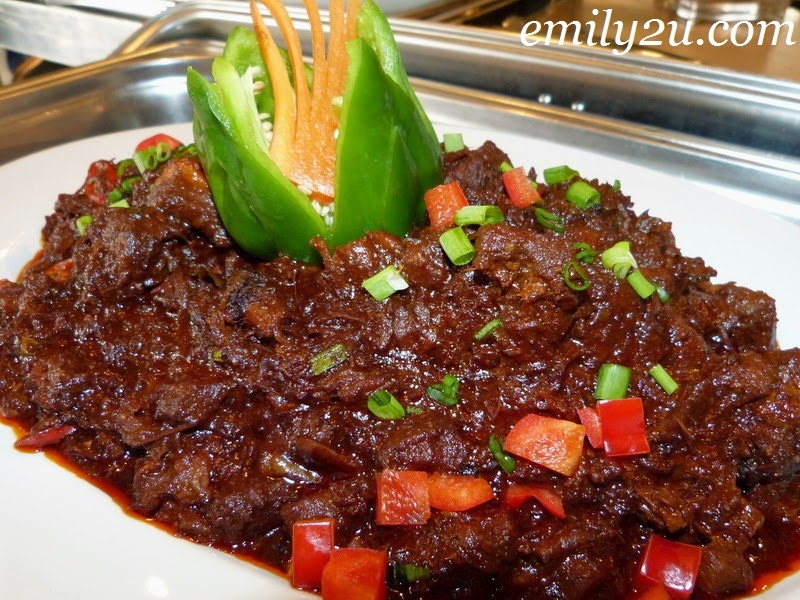 Impiana Hotel Ipoh Ramadan menu