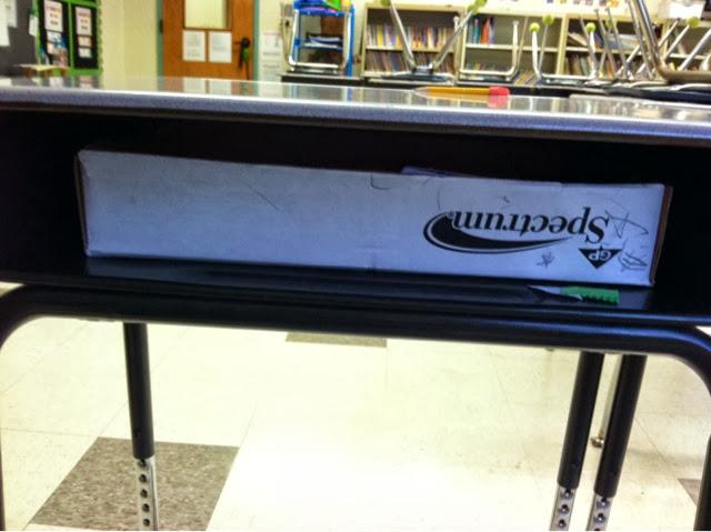 Polka Dot Lesson Plans Student Desk Drawers Tried It