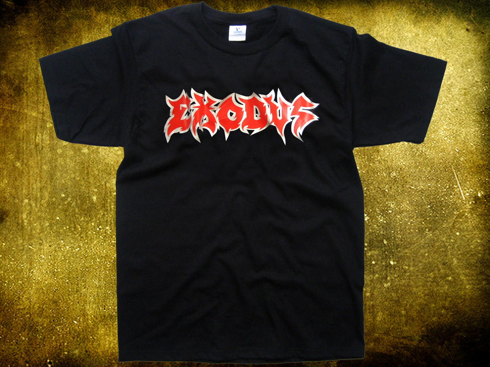 metal t shirts exodus thrash metal usa. Black Bedroom Furniture Sets. Home Design Ideas