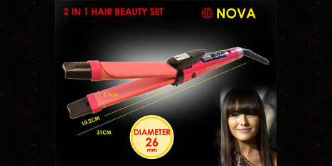 Nova 2-in-1 Beauty Set
