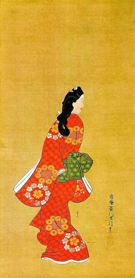 Mikaeri Bijin de Hishikawa Monorobu