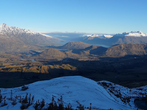 Hermosa la vista desde Coronet Peak, en Queenstown