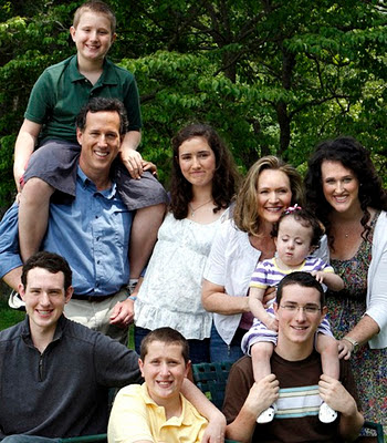 Rick Santorum: Champion of a holy family