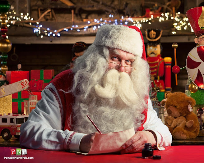Create a personalized Santa Claus video with Portable North Pole