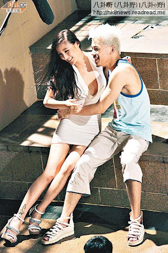 沈震軒劉羽琦曾合作拍攝電影,戲中有不少情慾鏡頭。(資料圖片)