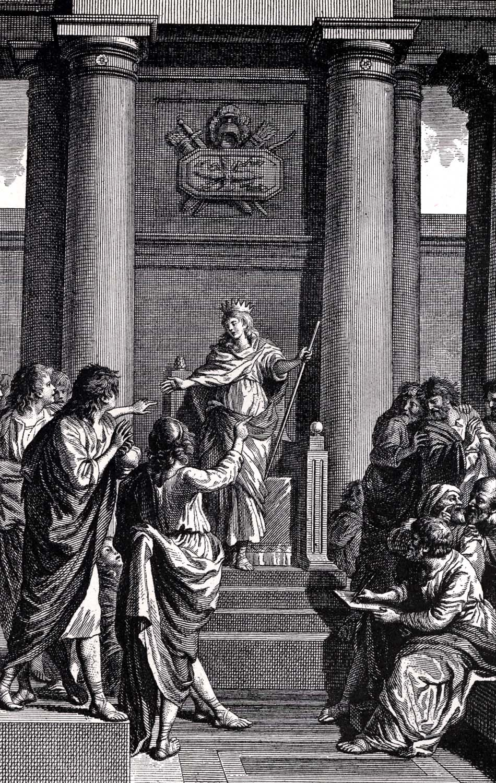 Josiah Of Judah The Great King Bac 2 Kings Ch 23: Story Of King Josiah 031811» Vector Clip Art