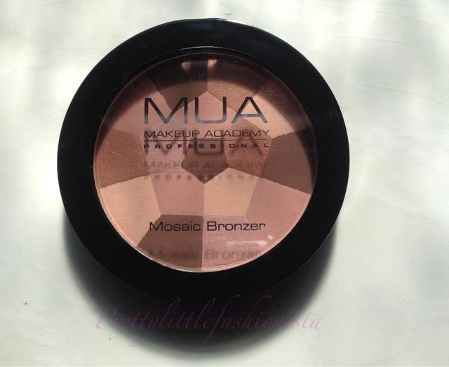 MUA Mosaic Bronzer in Sunkissed Glow