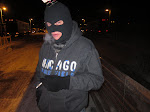 After the show it's so cold outside our resident terrorist doesn't know when he's done exhaling