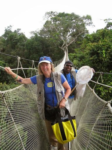 Canopy Meg and DC Randle. From Amazon Apprentices: Mentoring Inquiry in the Rainforest Canopy