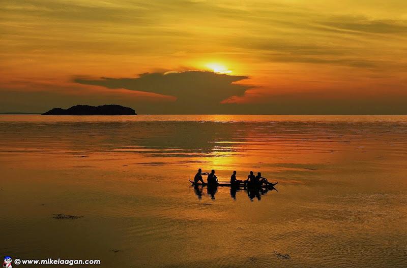 Sillhouette of Dalutan Island