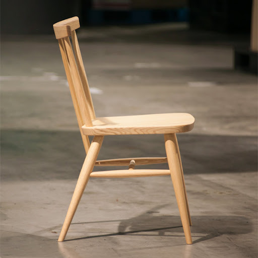 stick back chair スティックバックチェア:真横