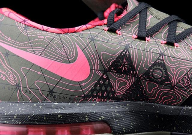 online store 0d93a 83b2c Nike KD VI – Black – Atomic Pink