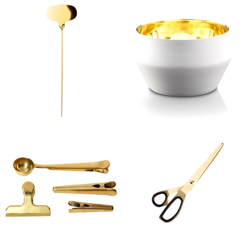 Reflector by Svenskt Tenn Candle holder by Claesson Koivisto & Rune, Paper clips and scissors HAY