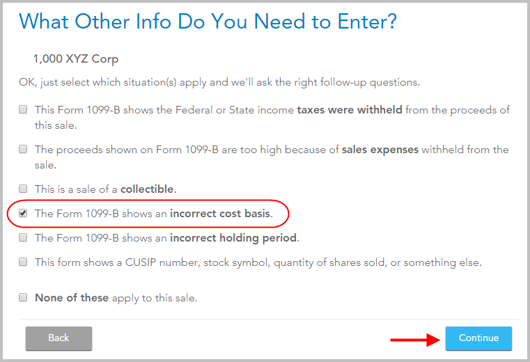 Adjust Cost Basis For Espp Sale In Turbotax