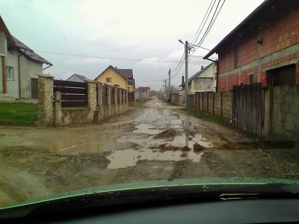 Strada Eugen Lovinescu, cartierul Burdujeni, municipiul Suceava