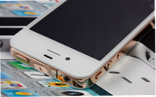 Gold iPhone 4 Rim Product