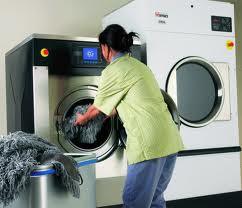 Ứng dụng Máy giặt công nghiệp