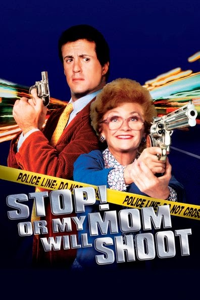 Poster Of Stop! Or My Mom Will Shoot (1992) Full Movie Hindi Dubbed Free Download Watch Online At Alldownloads4u.Com