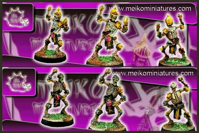 esqueletos Khemri Meiko Miniatures II