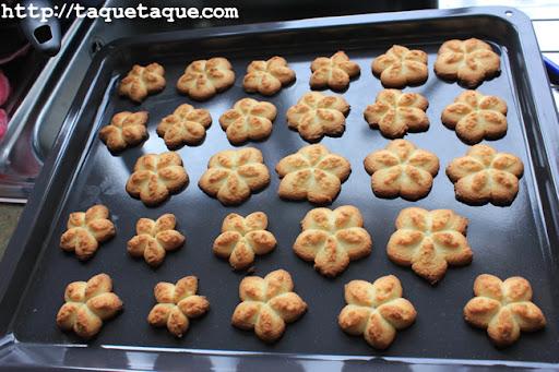 las galletas horneadas