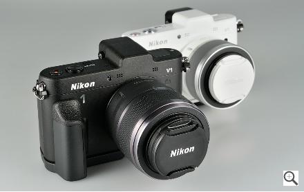 Nikon 1 V1 Blanco y Negro