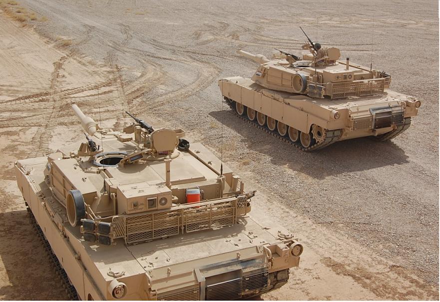 اكبر و اوثق موسوعة للجيش العراقي على الانترنت M1a1+2