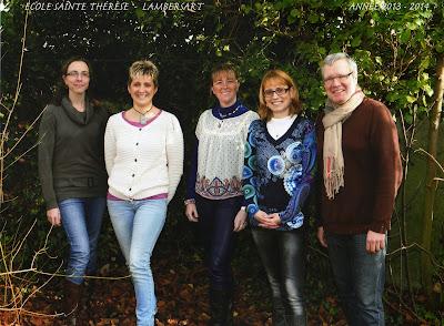 Lambersart Ecole privée maternelle et primaire Sainte Thérèse : Equipe enseignante