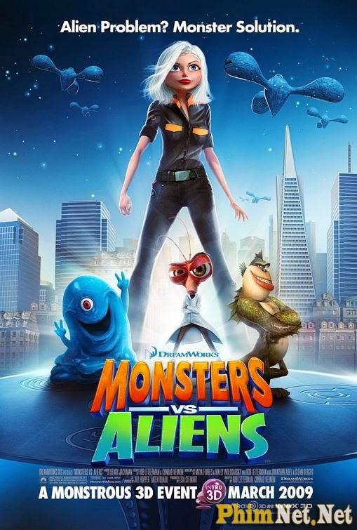 Phim Quái Vật Ác Chiến Người Hành Tinh - Monsters Vs Aliens 2009