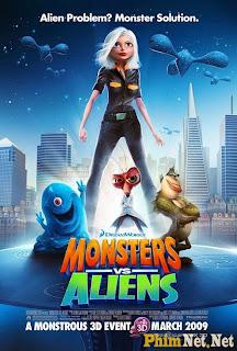Quái Vật Ác Chiến Người Hành Tinh - Monsters Vs Aliens 2009 - 2009