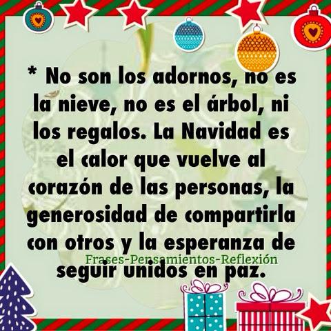 Pensamientos de la vida diaria no son los adornos no for Cuales son los adornos navidenos