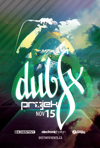 Poster Dub Fx w/ VILIFY & HYDEE  @ The Opera House Toronto November 15