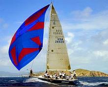 J/120 El Ocaso sailing BVI Spring Regatta