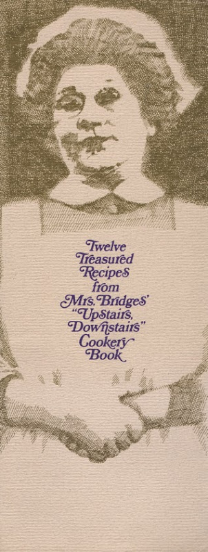 Upstairs Downstairs Cookbook