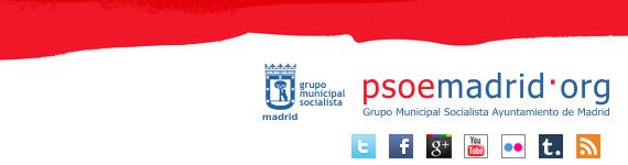 Paseo en bici por Madrid con los concejales del Grupo Municipal Socialista