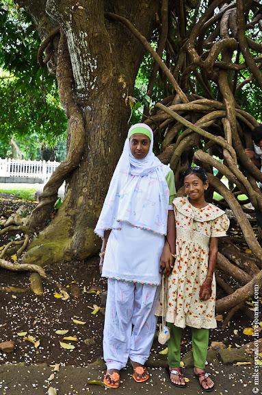 Индусы на Маврикии