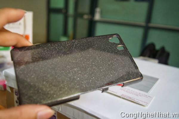 Ốp lưng Sony Xperia Z1 (SO-01F) ánh kim tuyến