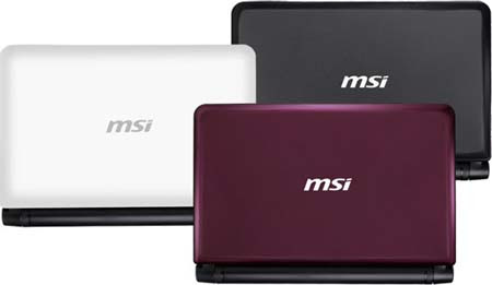 MSI Wind U180 Review | A New MSI Netbook Specifications
