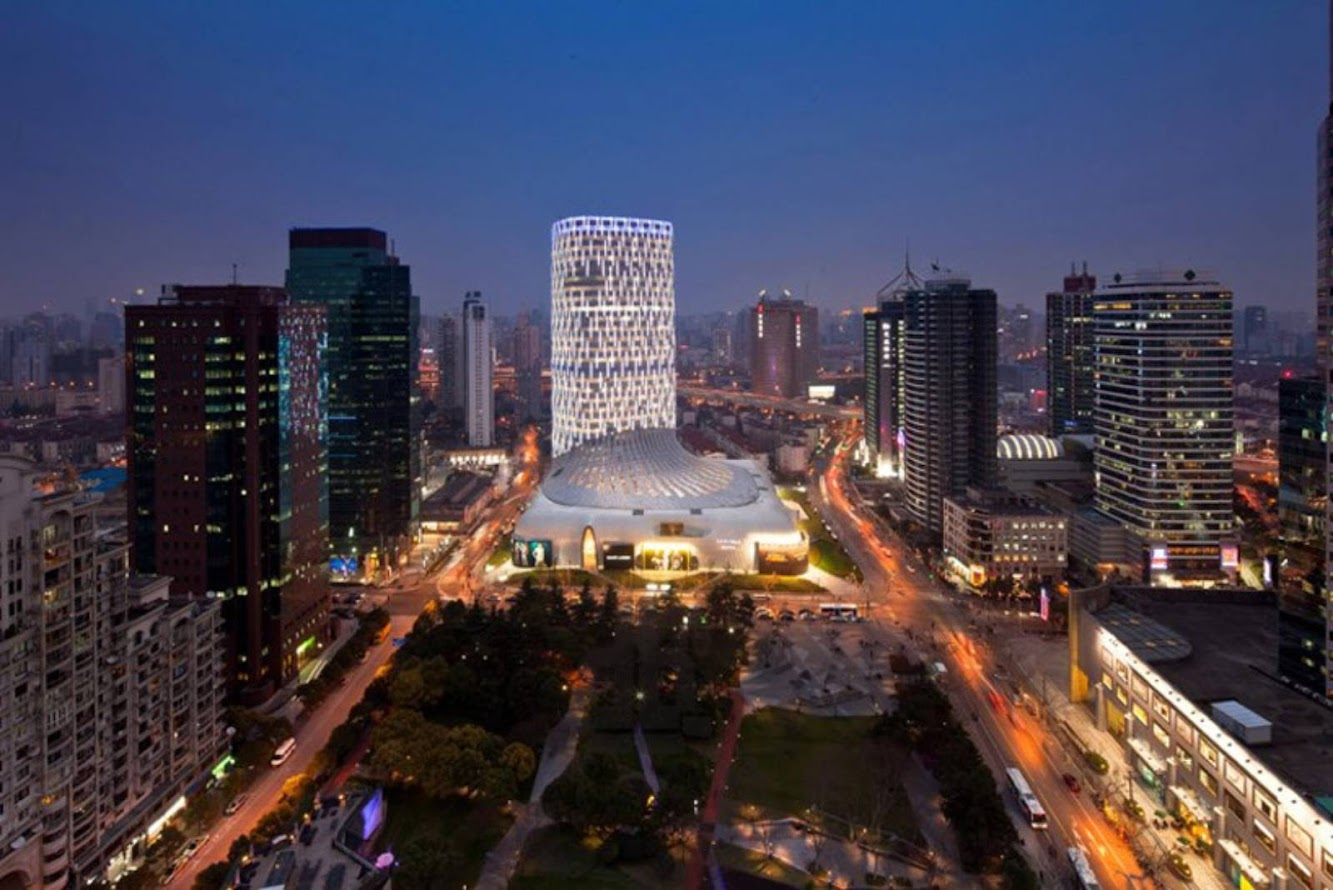 Shanghai, Cina: L'Avenue Shanghai by Jun Aoki & Associates