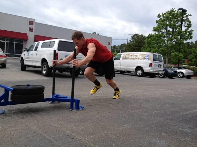 Brian getting it done on the prowler