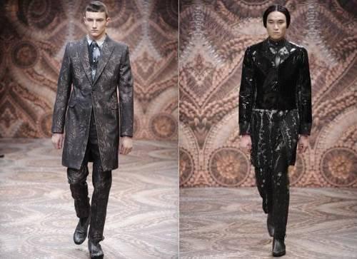 Peças Manchadas – Alexander Mcqueen Semana de Moda Milão Outono Inverno 2011