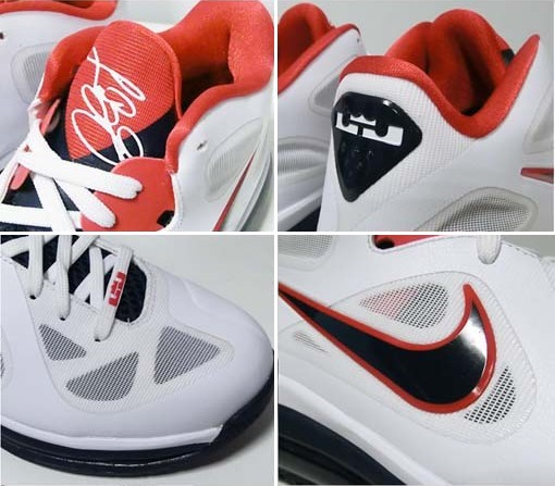 Nike LeBron 9 Low 8220USA Basketball8221 8211 Actual Photos