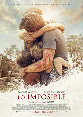 Lo imposible, cartel