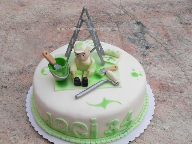 Festőnek torta